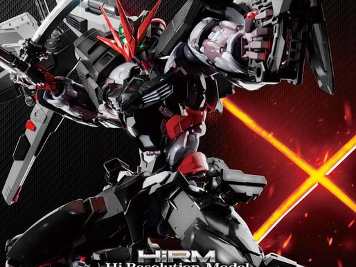 HiRM 1/100 Gundam Astray Noir - Box Art & Release Info