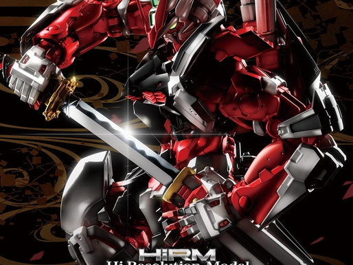 HiRM 1/100 Astray Red Frame - Box Art & Release Info