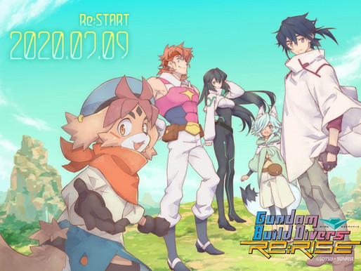 "GUNDAM BUILD DIVERS Re:RISE"" Streaming resumes from 20:00 on July 9th"