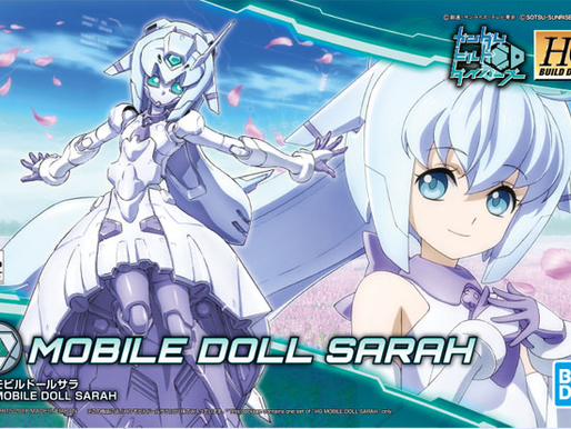 HGBD Mobile Doll Sarah - Release Info & Box Art