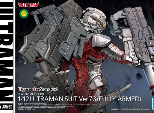 Figure Rise Ultraman Suit Ver. 7.3 Fully Armed - Release Info