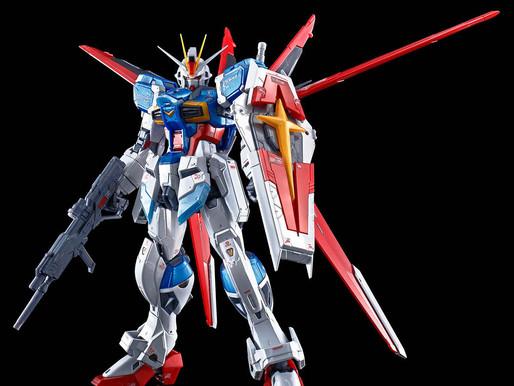 RG 1/144 Force Impulse Gundam Titanium Finish - Release Info