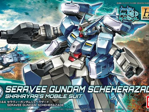 HGBD 1/144 Seravee Gundam Scheherazade - Box Art