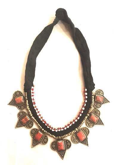 Kuchi Necklace with Small Medallions - TKN205