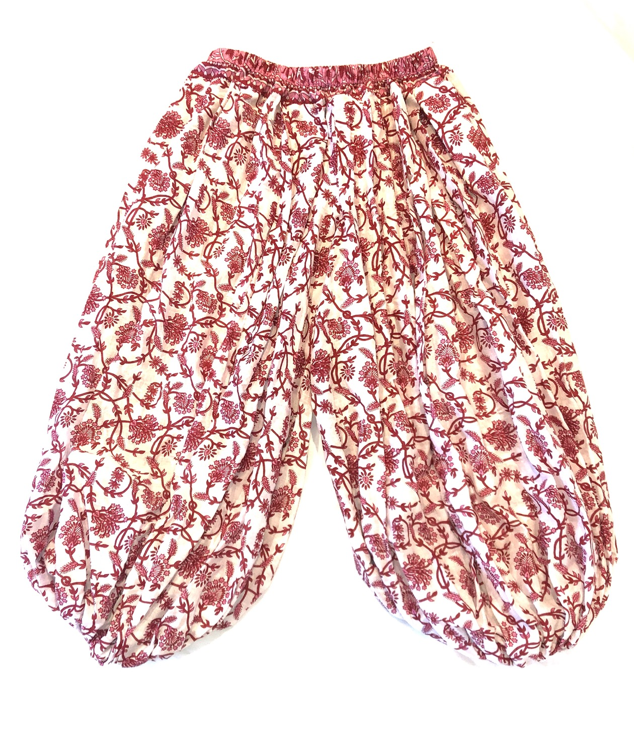 "Cotton Pantaloons - 39"" - Red/Pink/White - CPT208"