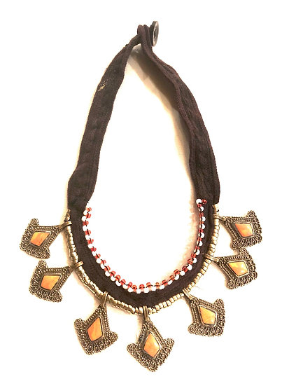 Kuchi Necklace with Small Medallions - TKN207