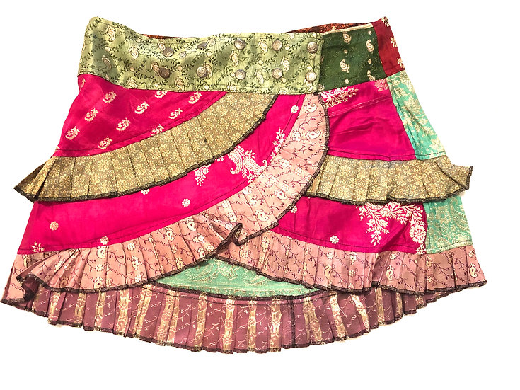 Sari Mini Skirt - SMK106