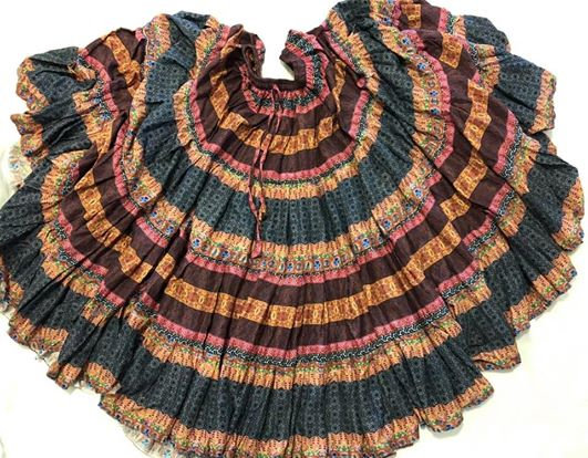 Multi Print Skirt - 25 Yards - TSPP15