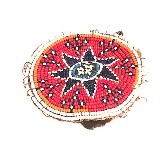 Beaded Medallion - BM113
