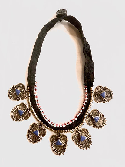 Kuchi Necklace with Small Medallions - TKN206