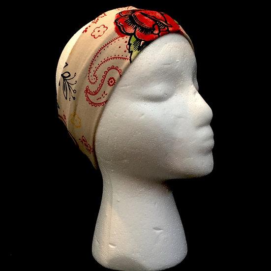 Amor Print Knit Headband - KNHB110