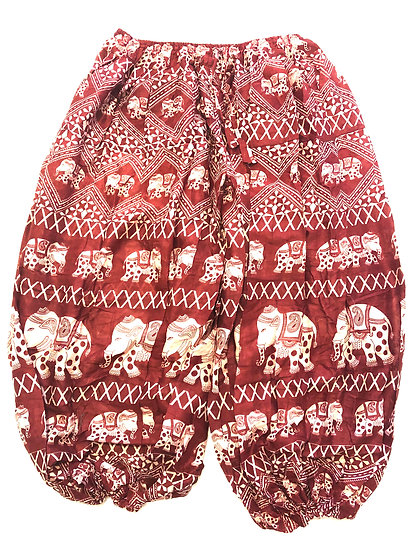 """Cotton Pantaloons - 44"""" - Red/White - CPT200"""