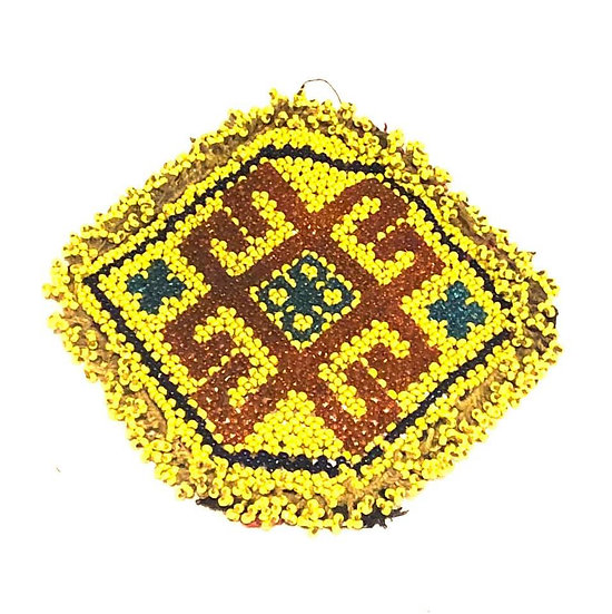 Beaded Medallion - BM122