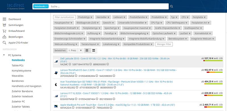 Erweiterte Filterfunktionen B2B Shop.png