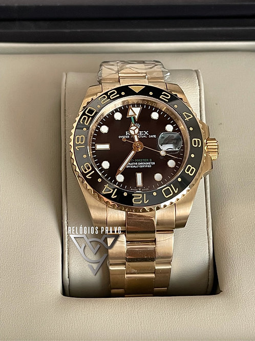 R. GMT MASTER II GOLD