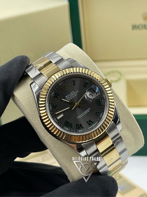 KIT R. DATEJUST MISTO +CAIXA R. COM DOCUMENTOS