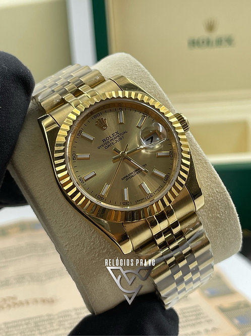 KIT R. DATEJUST FEMININO +CAIXA R. COM DOCUMENTOS