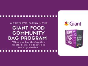 Giant Food Community Bag Program
