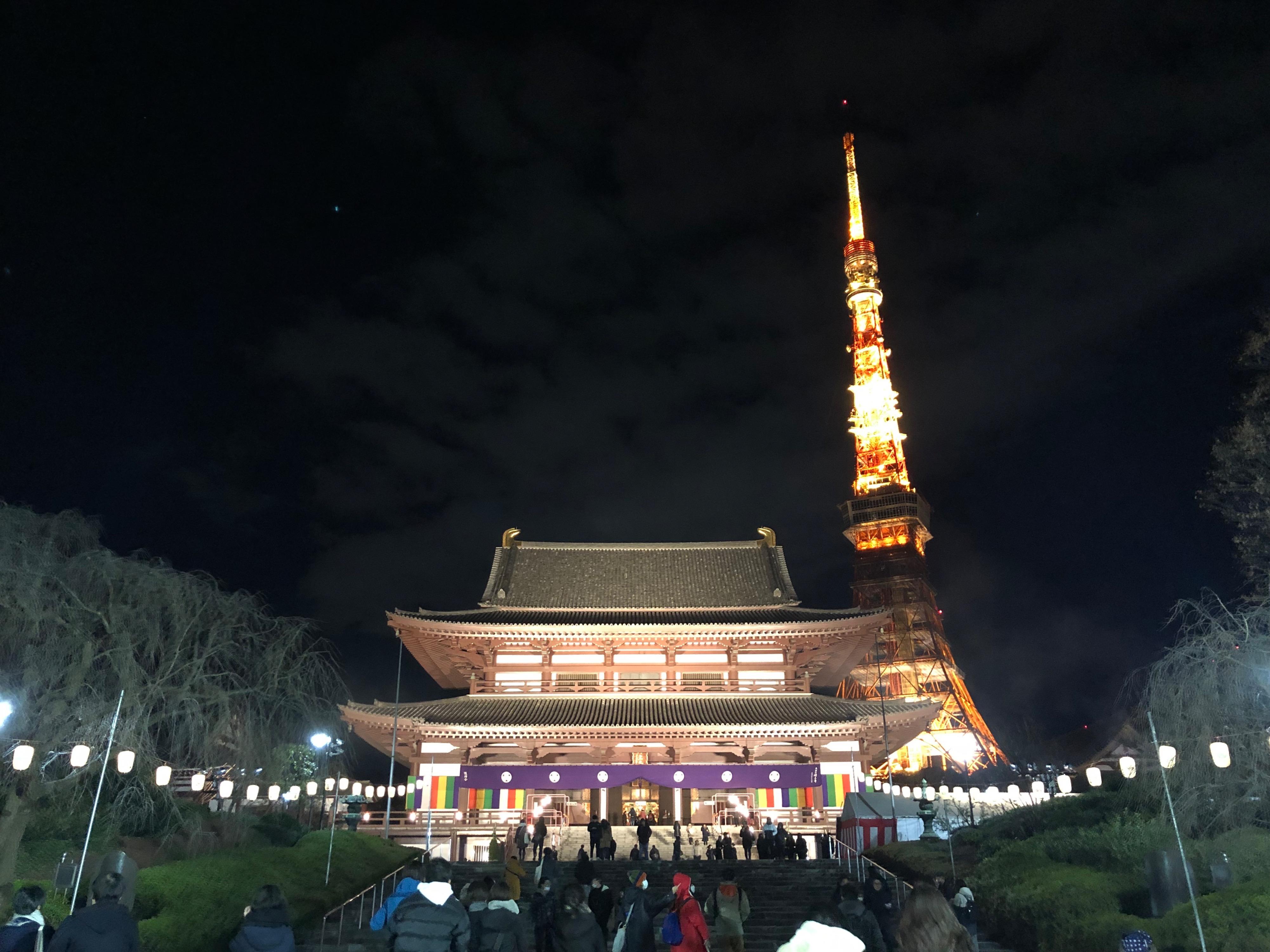増上寺2019