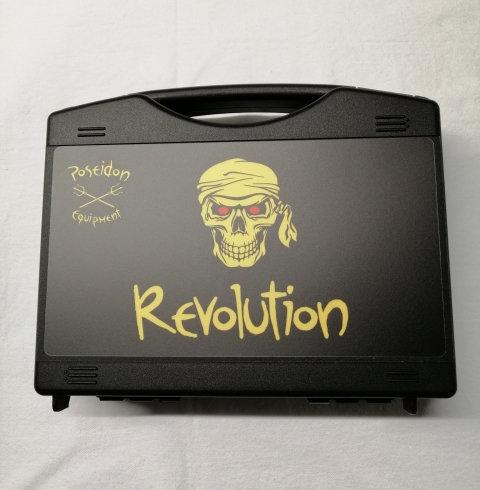 Revolution Transportkoffer, gepolstert, schwarz