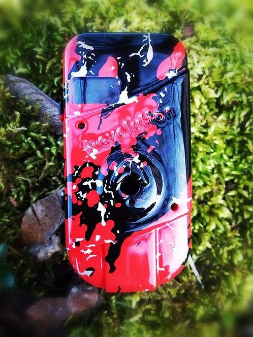 Bissanzeiger (Sender) Salamander rot