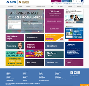 CalCPA Homepage with CPE Finder Card_2x.