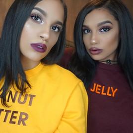Danielle and Gabrielle Victor