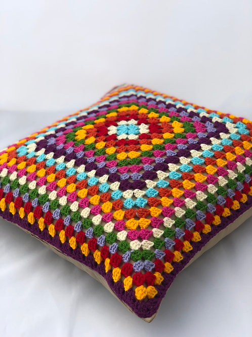 Retro style Granny cushion cover
