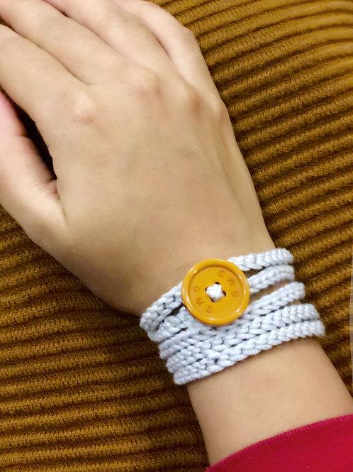 Grey Wristlet