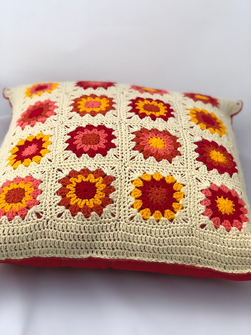 Sunburst cushion cover