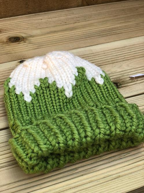 Bicolour hat