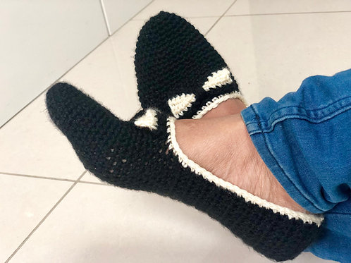 Bow tie Slippers