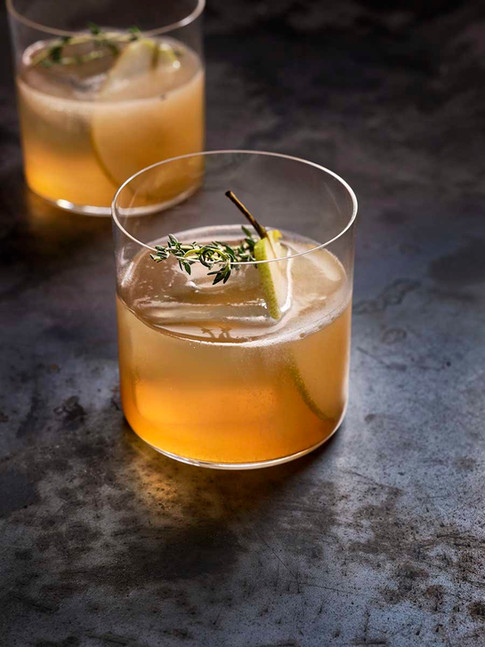 Pear Shrub cocktail
