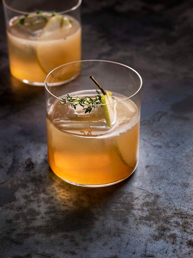 Pear Shrub cocktail