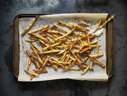 match stick fries