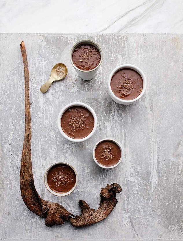 dairy free chocolate budino