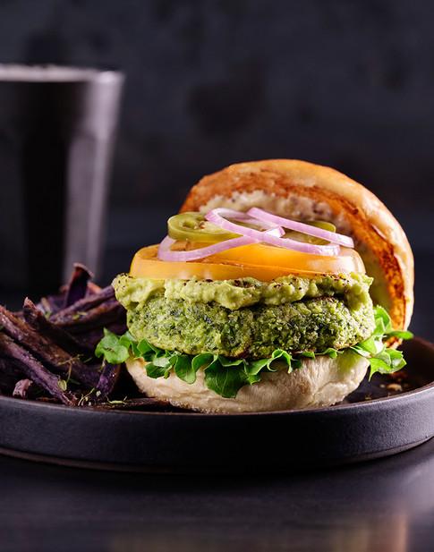 Whole Food Plant Based Burger