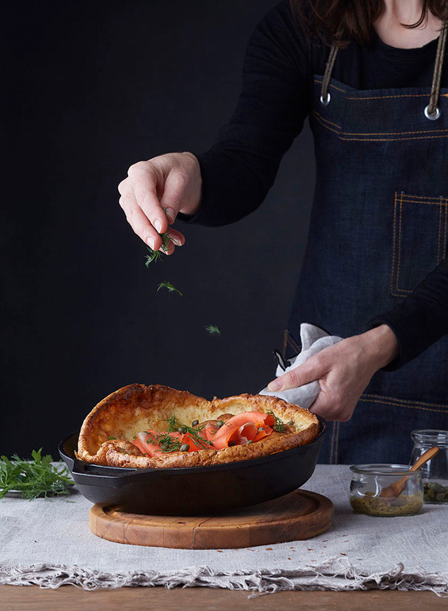 Savoury Dutch Baby