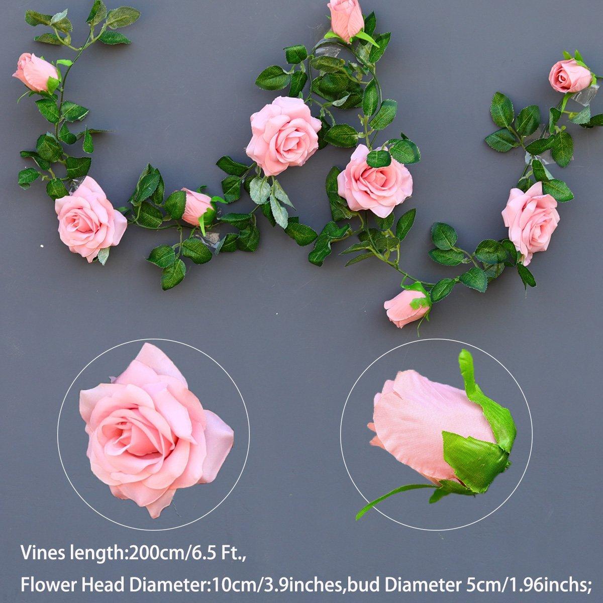 Party Pink Rose Vine
