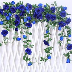 Royal Blue Rose Vine