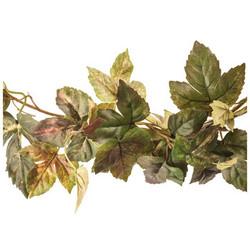 Green & Red Maple Ivy Garland