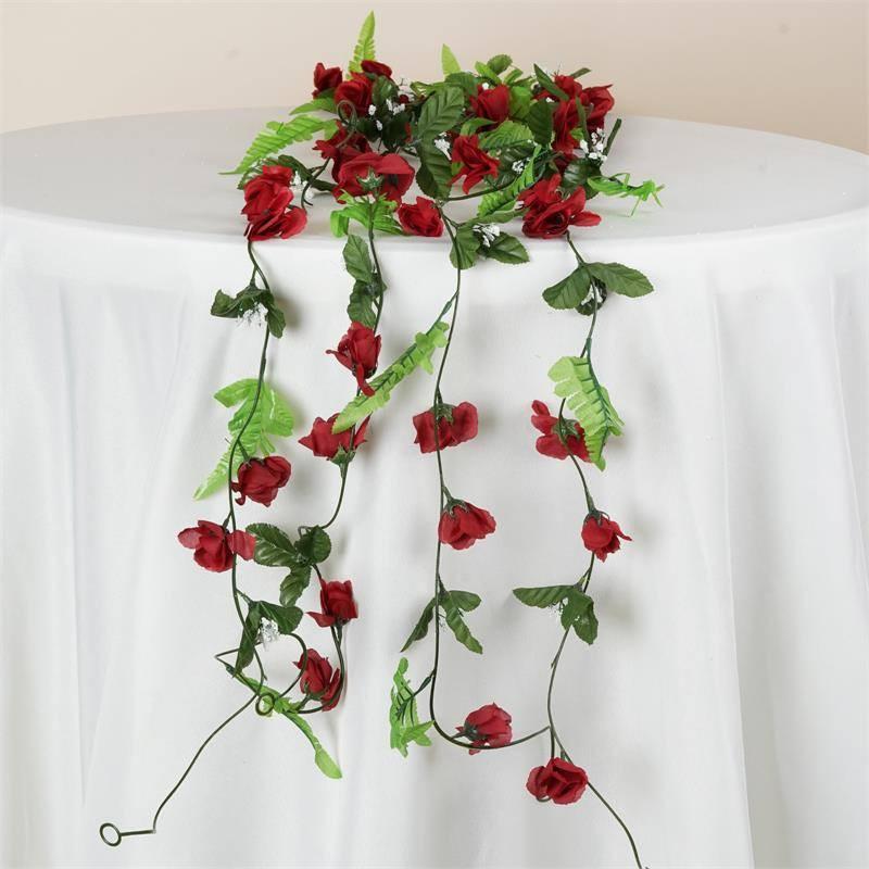 Burgundy Rose UV