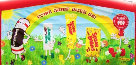 """""""Come Jump with Us"""" Candy Banner"""