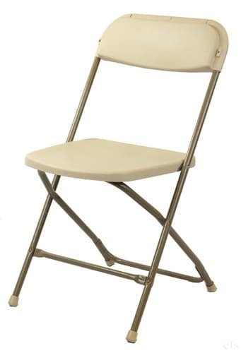 Adult Cream Folding Chairs