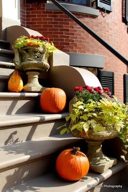 Boston in October: Doorways