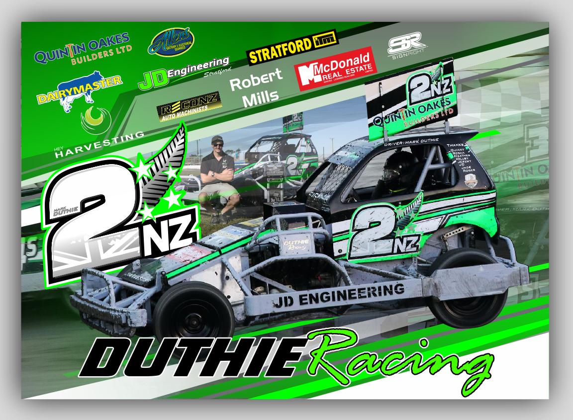 Duthie A3 Poster Design
