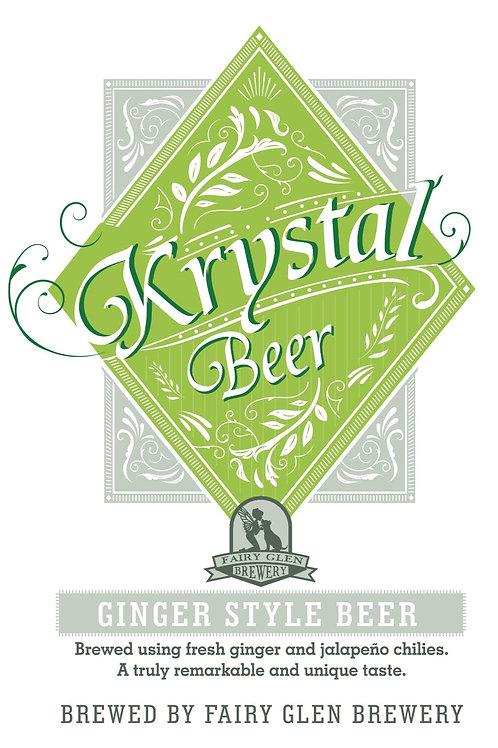 Krystal Beer Ginger & Jalapeno Beer (Click to Order)