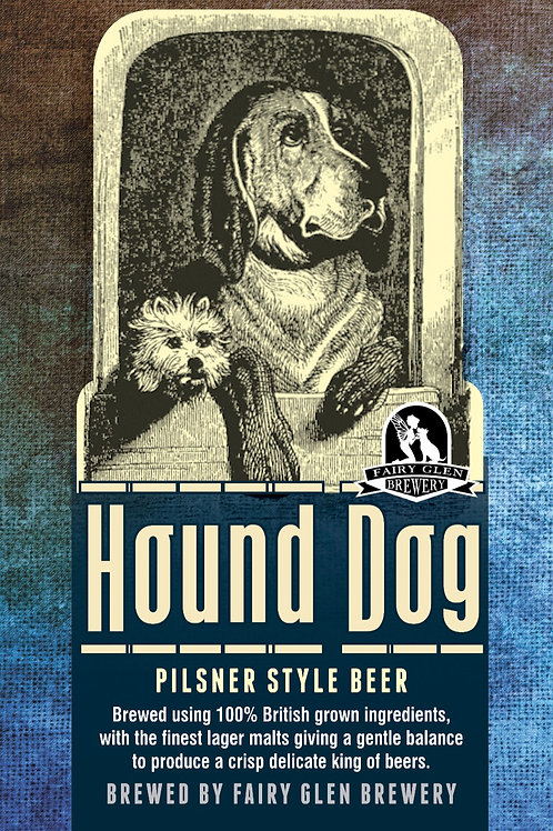 Hound Dog Pilsner (Click to Order)