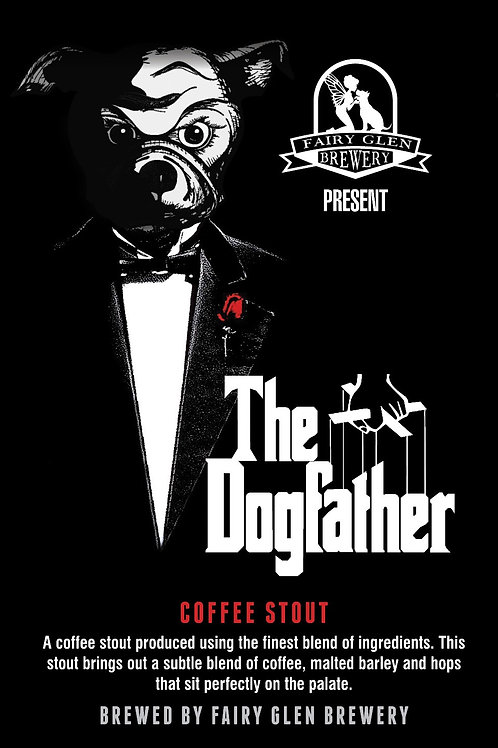 The DogFather Coffee Stout (Click to Order)