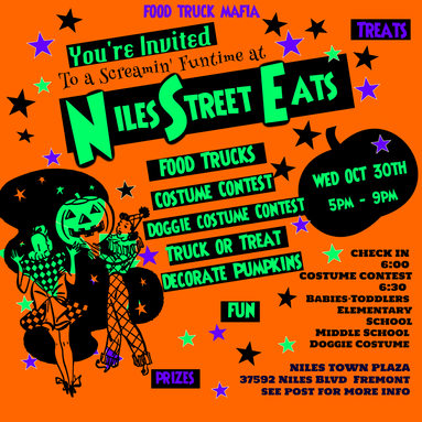 Truck or Treat at Niles Street Eats